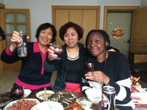 Gaele and Homestay Family Chengde